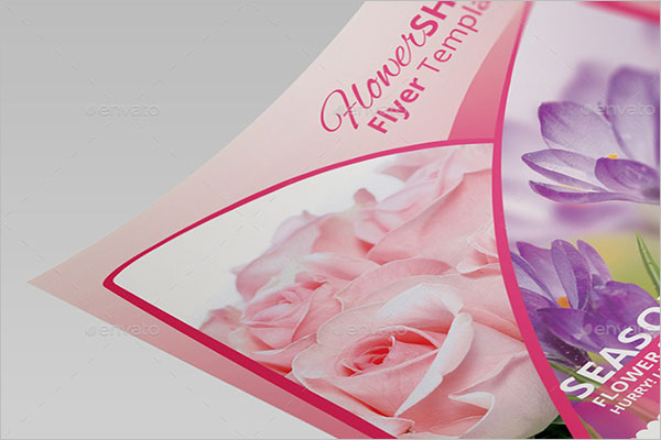 Flower Shop Flyer Design Example