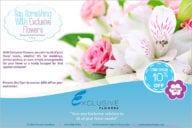 Flower Shop Flyer Illustration