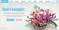 Flowers Prestashop Template