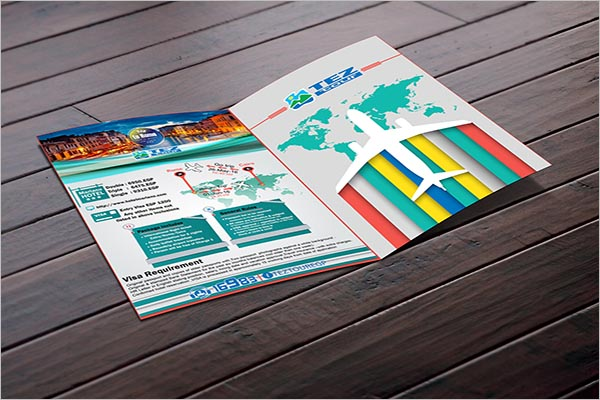 Flyer To Tourism Company