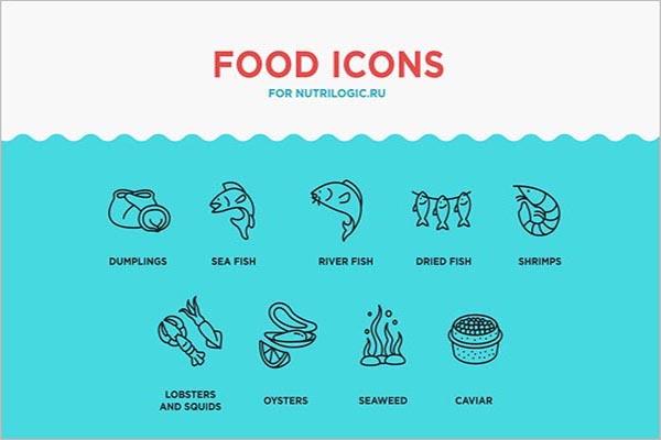 Food Design Icon download