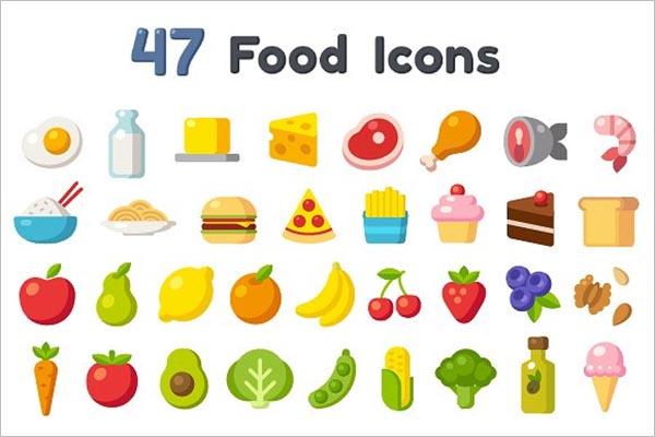 Food Menu Icon Image