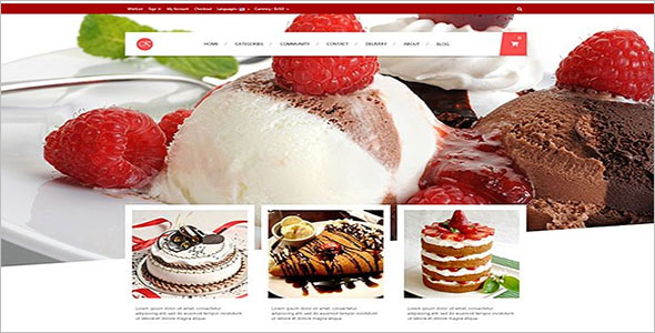 Food Responsive Prestashop Theme