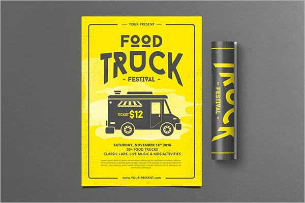 Food Truck Event Flyers