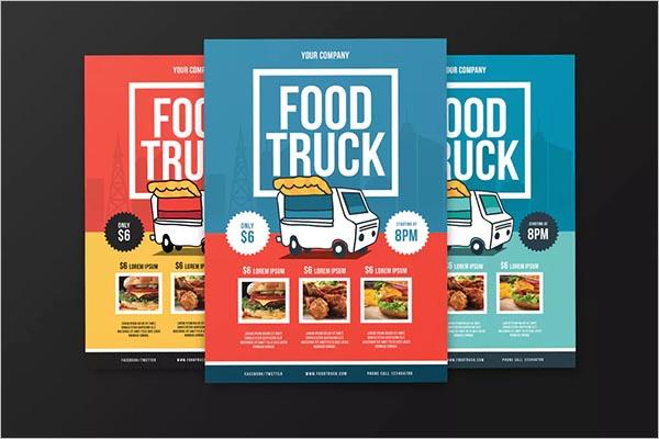 Food Truck Flyer Design