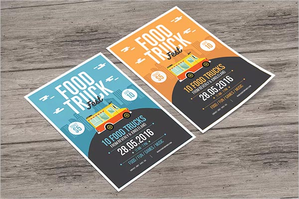 Food Truck Flyer Ideas