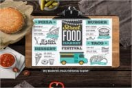 Food Truck Flyer Template