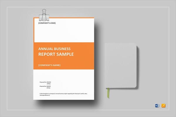 Formal Business Report Template Word
