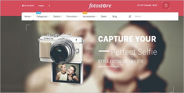 FotoStore Opencart Theme