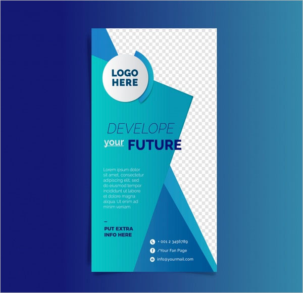Free Abstract Flyer Template