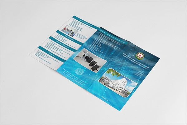 Free Adobe Tri-Fold Brochure Template