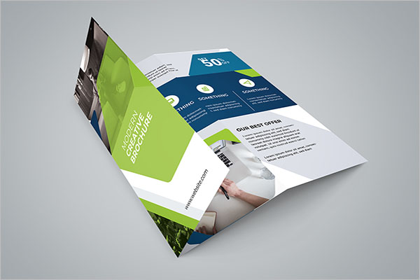 Free Corporate Tri-Fold Brochure Template