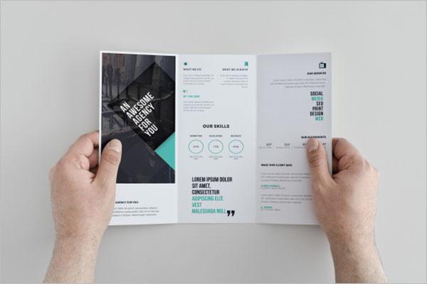 Free Creative Tri-Fold Brochure