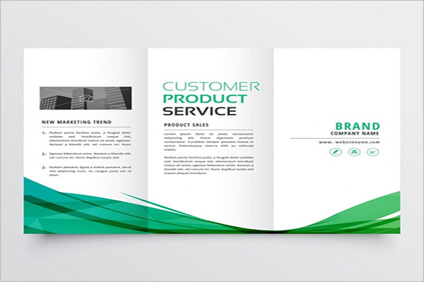 Free Elegant Tri-Fold Brochure Template