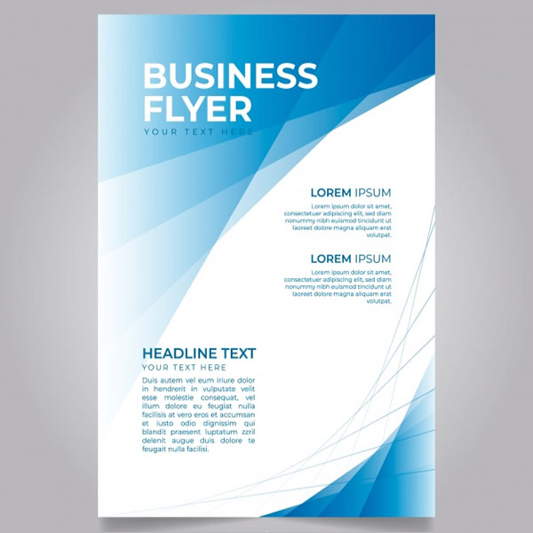 32 free business flyer templates psd creative template