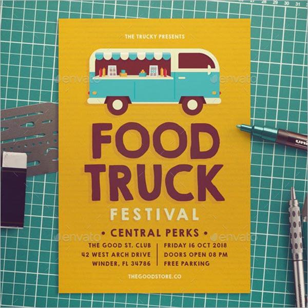 Free Food Truck Website Template