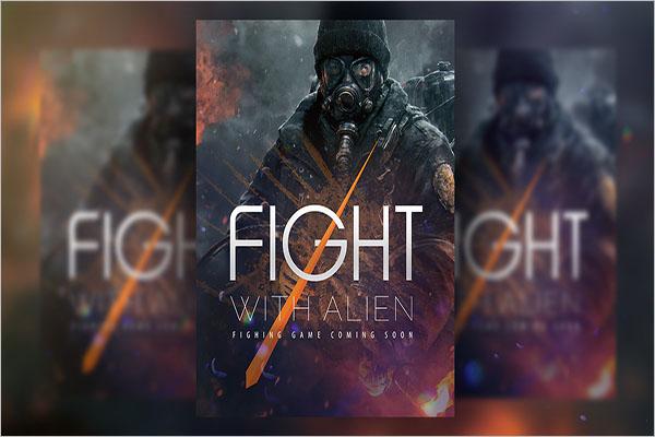 Free Game Flyer Design
