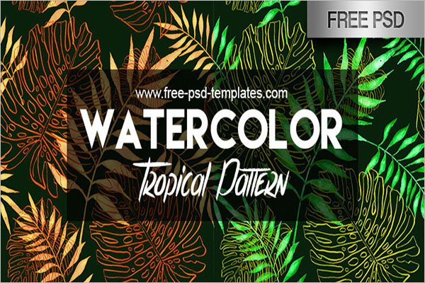 Free High Resolution Tropical Patterns