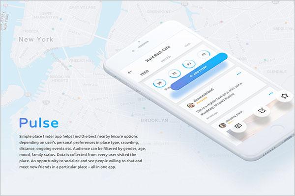 Free Mobile Application Mockup