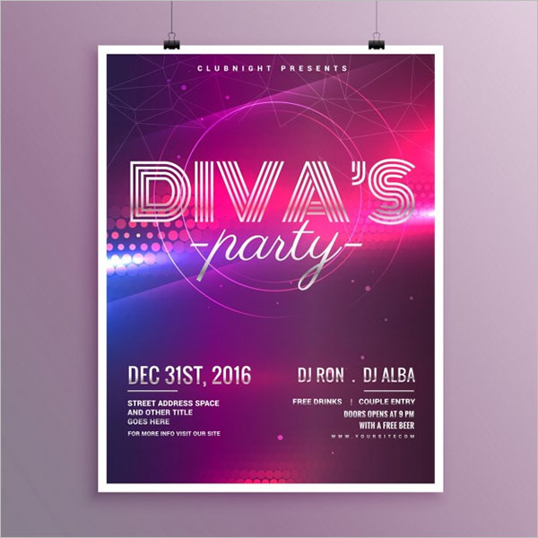 Free Nightclub Flyer Design