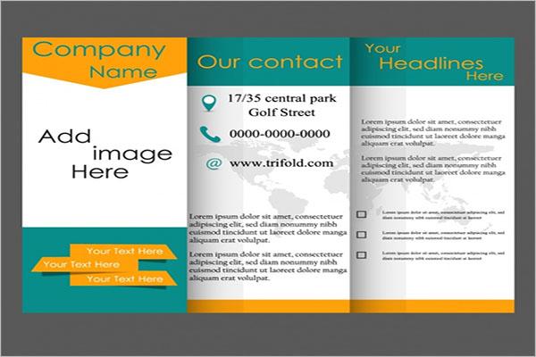 Free Publisher Tri-Fold Brochure Template