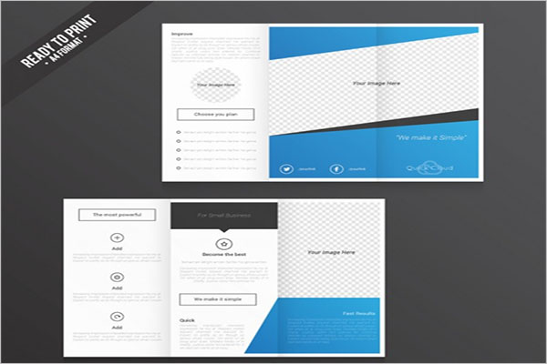 Free Tri-Fold A4 Brochure Template