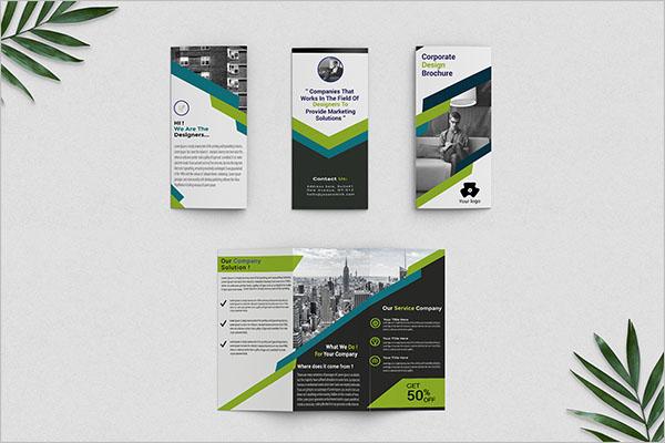 30 best free tri fold brochure templates creative template