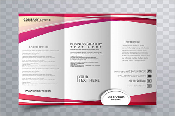 Free Tri-Fold Brochure Template PSD