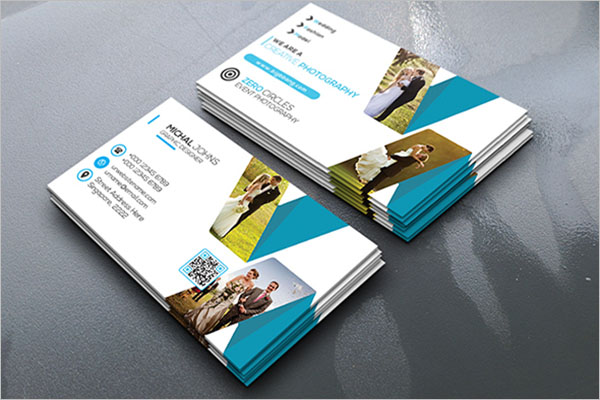 Free Wedding Business Card Template