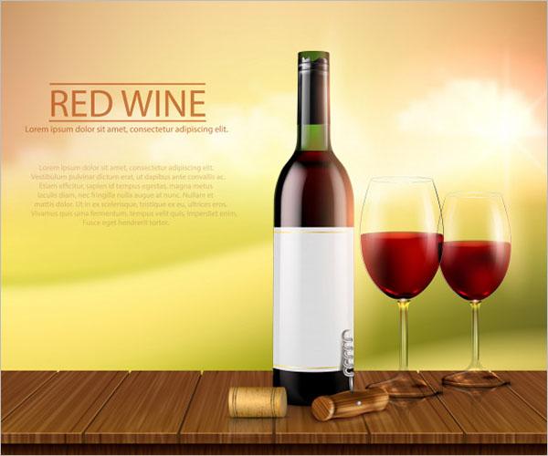 Free Wine Bottle Design