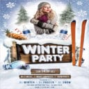 Free Winter Flyer Template
