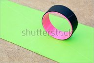 Free Yoga Mat Mockup Design