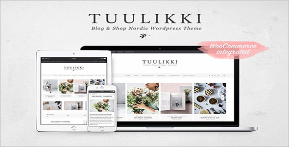 Fully Responsive Blog & Shop Theme