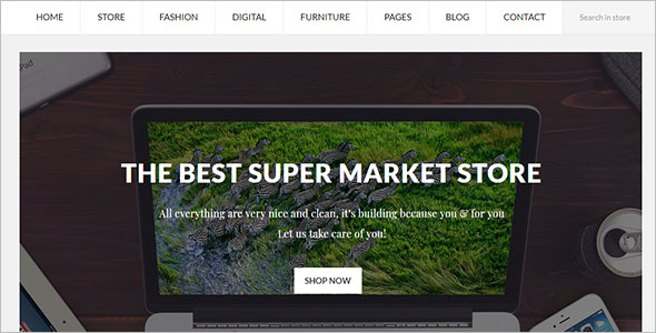 Fully Responsive Prestashop Theme