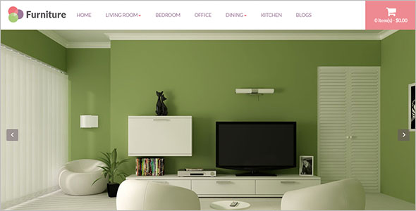 Furniture Ecommerce Opencart Theme