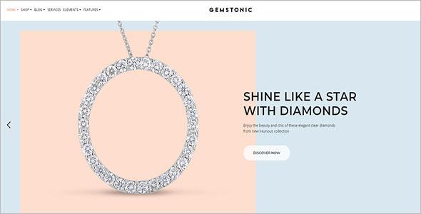 Gemstonic WooCommerce Theme