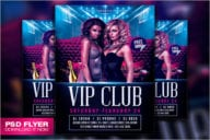 Girl Night Party Flyer Template