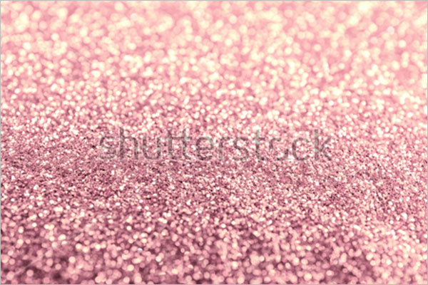Glitter Rose Gold Background