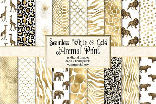 Gold Animal Texture