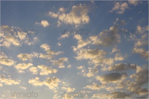 Golden Sky Texture