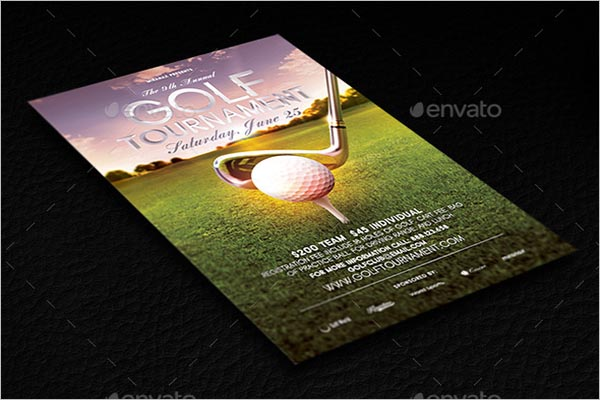 Golf Flyer Template
