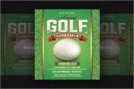 Golf Tournament FlyerTemplate