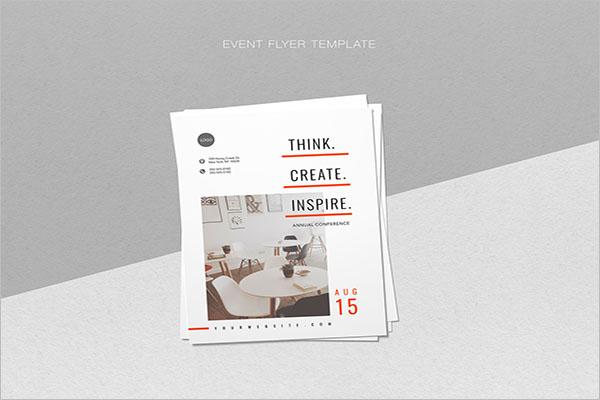 Graphic Event flyer Design
