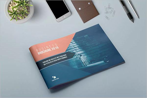 Graphic Landscape Brochure Design