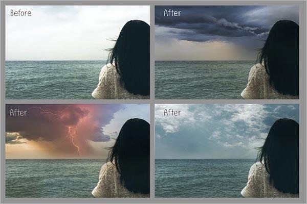 Graphic Sky Texture