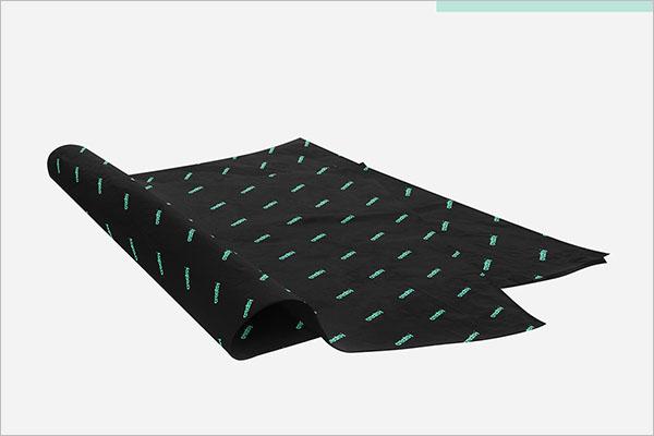 Graphic Tissue Paper Mockup Design