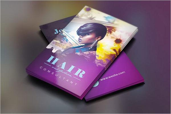 Hair & Fashion Business Card