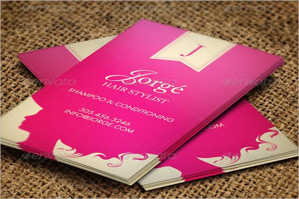 Hair Stylist Business Card Design Ideas