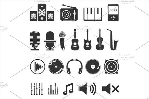 Halo Design Music Icon