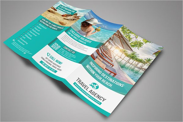Handmade Travel Brochure Design